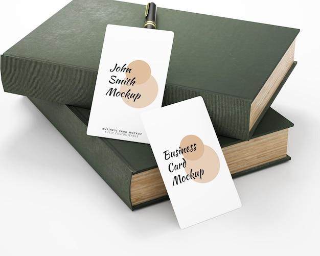 Maquete de cartão de visita minimalista