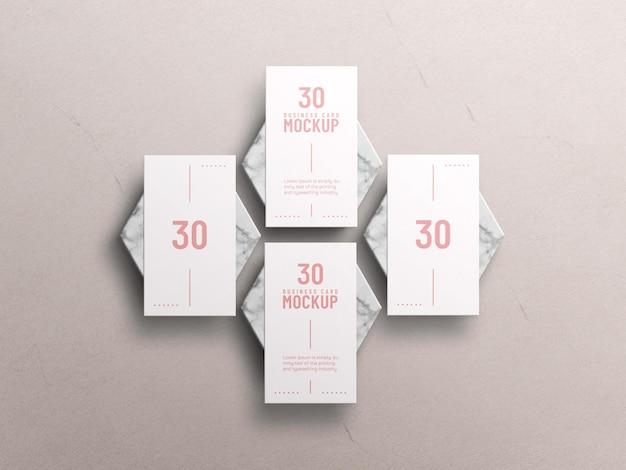 Maquete de cartão de visita mínimo Psd Premium