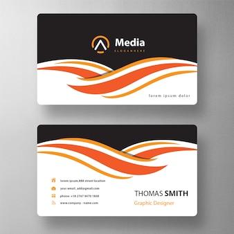 Maquete de cartão de visita profissional