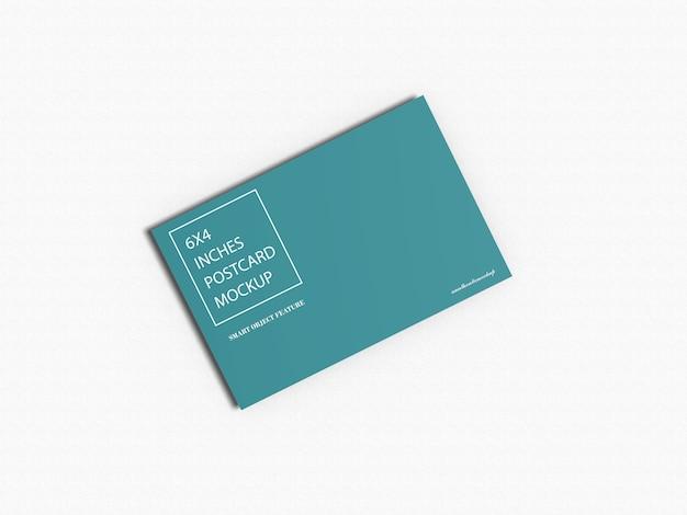 Maquete de cartão postal