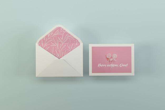 Maquete de cartão