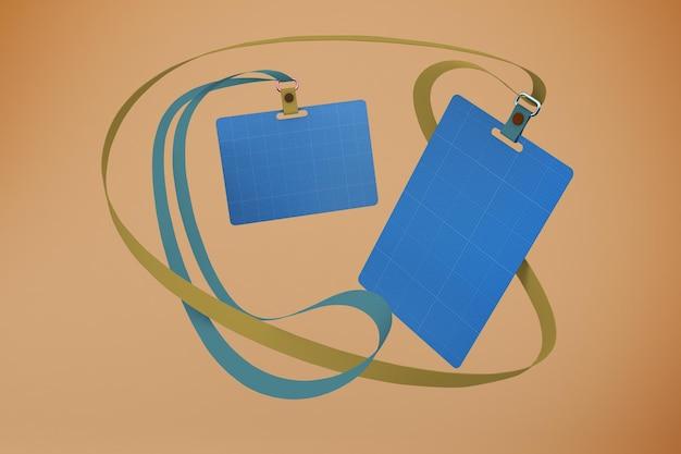 Maquete de carteira de identidade