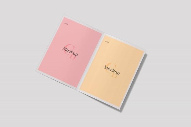 Maquete de cartões de convite