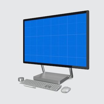 Maquete de computador