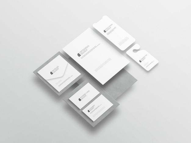 Maquete de conjunto estacionário mínimo