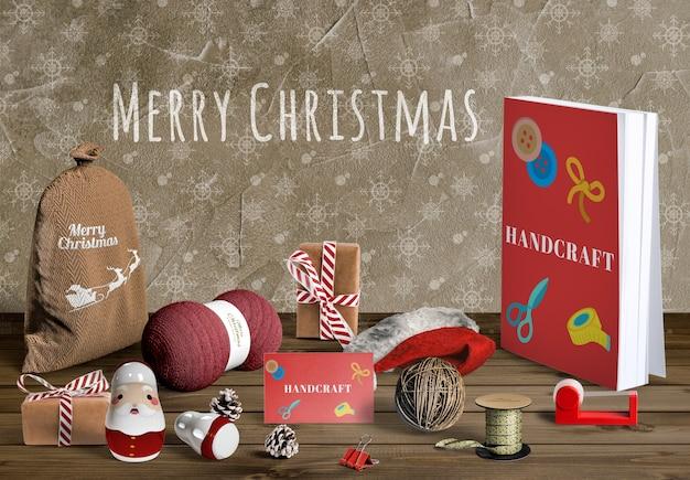 Maquete de criador de cena de natal