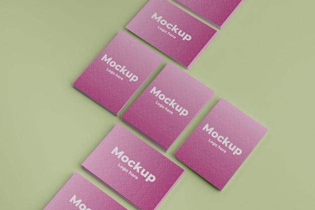Maquete de design de cartão de visita
