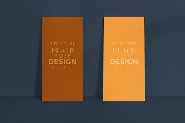 Maquete de design de folheto corporativo