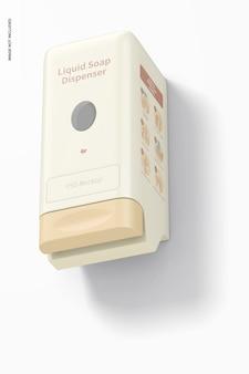 Maquete de dispensador de sabonete líquido