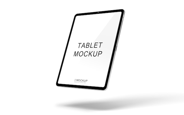 Maquete de dispositivo de tablet