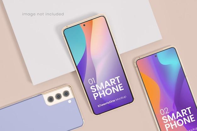 Maquete de dispositivo smartphone android