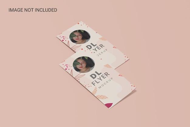 Maquete de dois panfletos dl