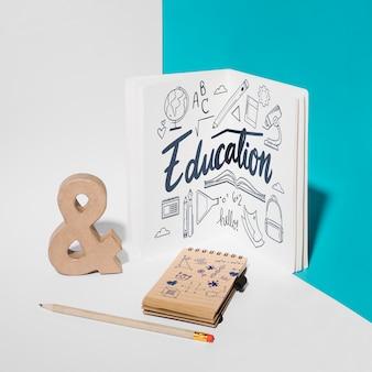 Maquete de educação