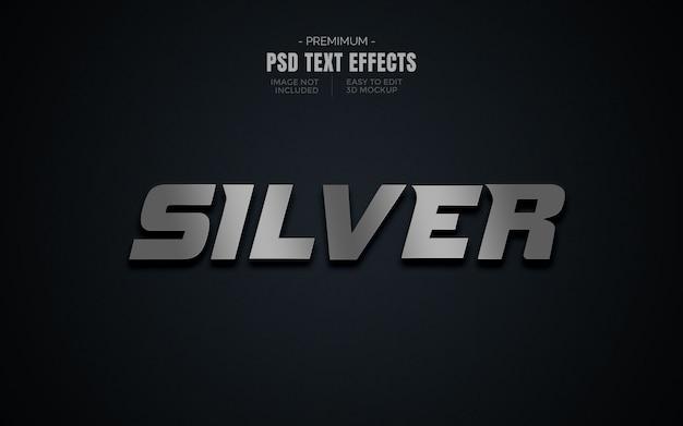 Maquete de efeito 3d de texto seguinte
