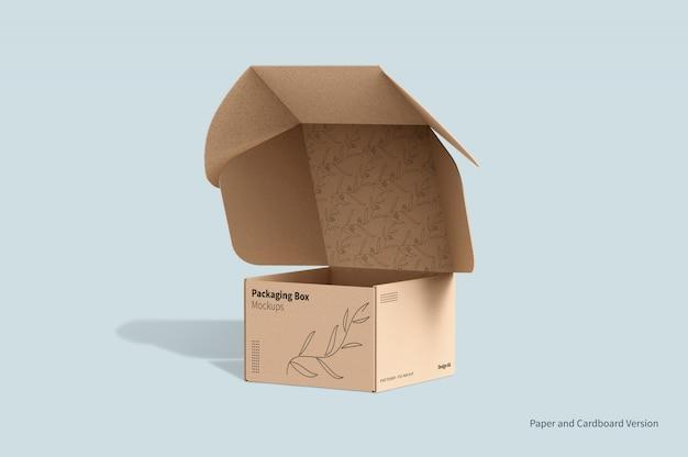 Maquete de embalagem de caixa de correio Psd Premium