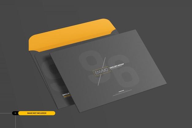 Maquete de envelope 6x9