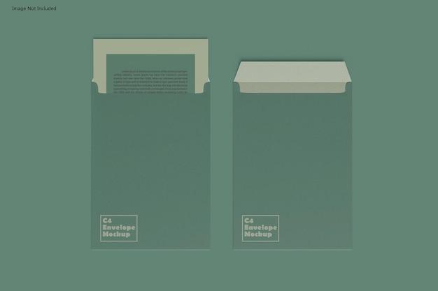 Maquete de envelope c4