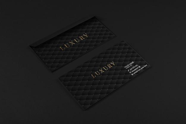Maquete de envelope de luxo