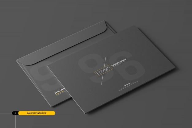 Maquete de envelope psd