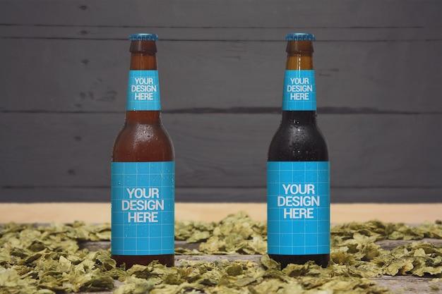 Maquete de estilos de cerveja