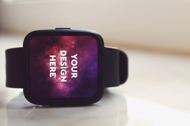 Maquete de exibição smartwatch