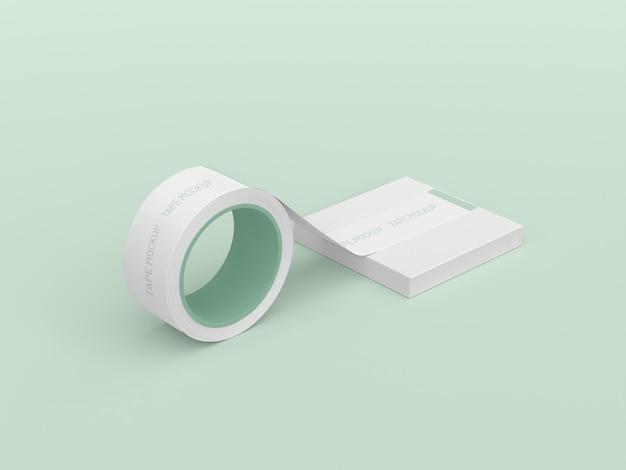 Maquete de fita adesiva
