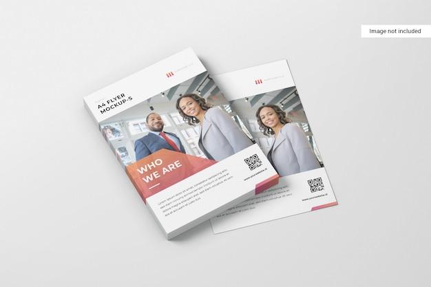 Maquete de flyer criativo