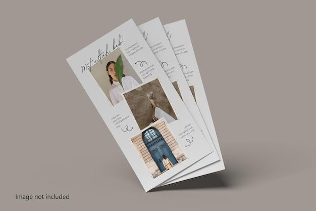 Maquete de flyer dl