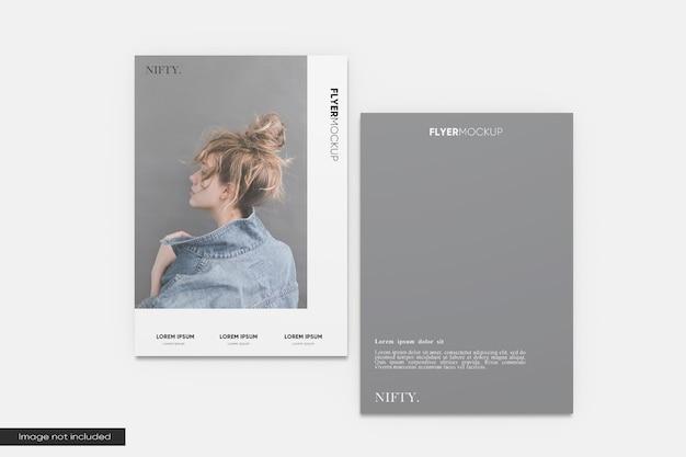Maquete de folheto a4 elegante