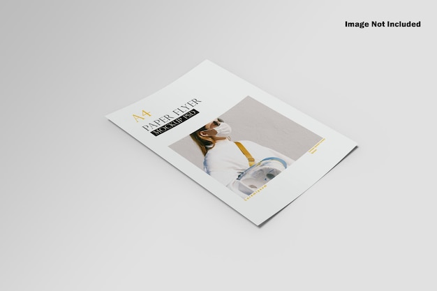 Maquete de folheto a4