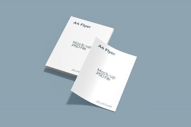 Maquete de folhetos a4