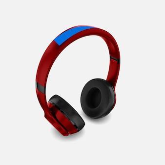 Maquete de fone de ouvido