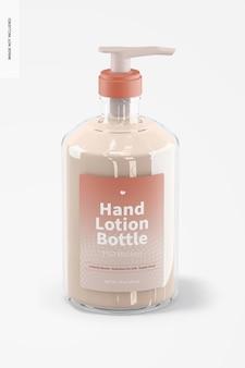 Maquete de frasco de 500 ml de loção para as mãos