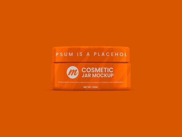 Maquete de frasco de cosméticos para uso polivalente