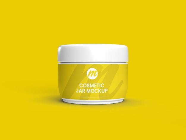 Maquete de frasco de cosméticos para uso polivalente Psd Premium