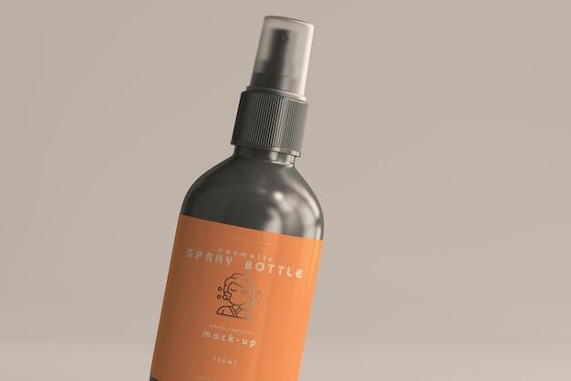 Maquete de frasco de spray cosmético