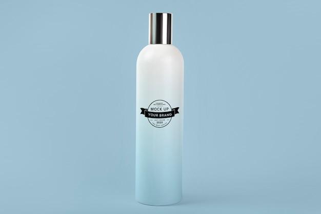 Maquete de frasco de xampu