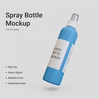 Maquete de frasco spray isolado