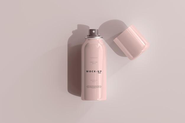 Maquete de frasco spray