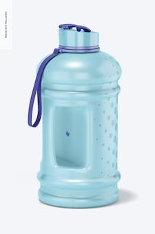 Maquete de garrafa de água de 2,2 l