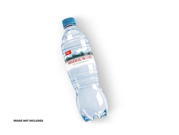 Maquete de garrafa de água de plástico 3d