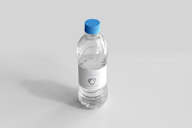 Maquete de garrafa de água doce 1.0l