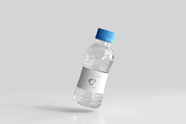 Maquete de garrafa de água doce