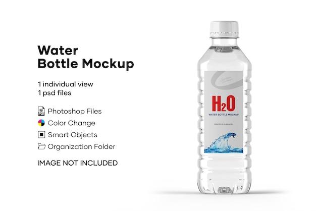 Maquete de garrafa de água