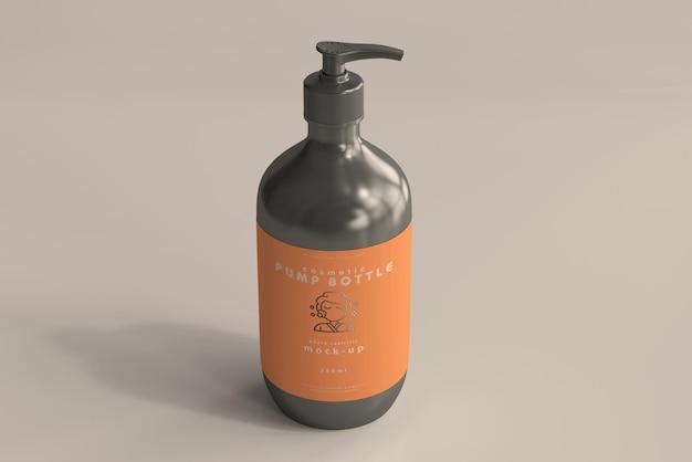 Maquete de garrafa de bomba grande