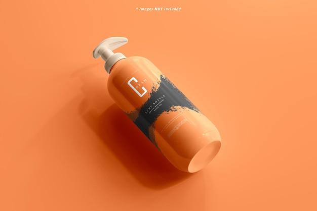 Maquete de garrafa de bomba