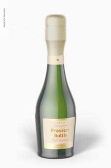 Maquete de garrafa de prosecco de 187 ml