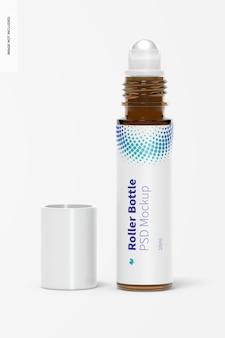 Maquete de garrafa de rolo de 10 ml
