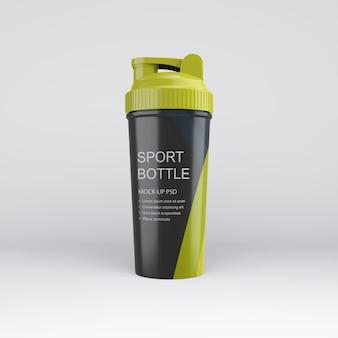 Maquete de garrafa esportiva