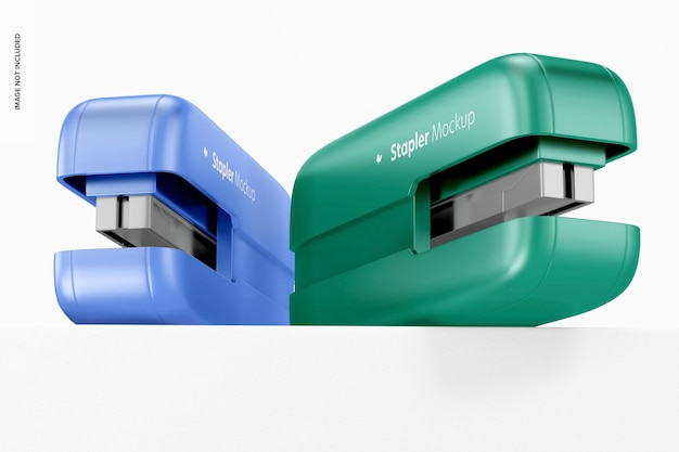 Maquete de grampeadores